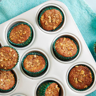 Encore: Banana-Walnut Bran Muffins