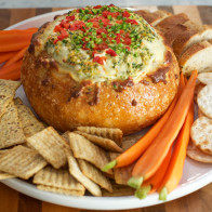 Encore: Spinach, Artichoke and Red Pepper Dip