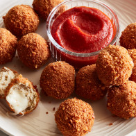 Encore: Crispy Chicken Parm Balls