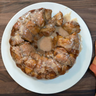 Encore: Pumpkin Monkey Bread with Orange Pumpkin Glaze