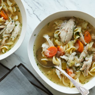Instant Pot Chicken Noodle Soup