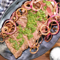 Encore: Flank Steak with Chimichurri Sauce