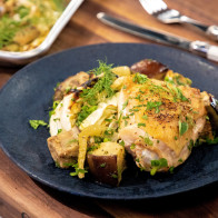 Encore: Keto Sheet-Pan Chicken with Cabbage, Fennel and Eggplant
