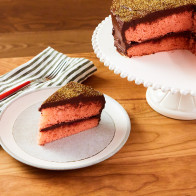 Encore: Pink Prosecco Cake with Chocolate Truffle Frosting