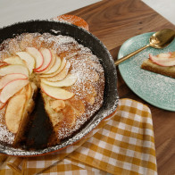 Encore: Fall Apple Skillet Cake
