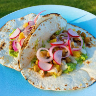 Encore: Crunchy Roasted Chickpea Tacos
