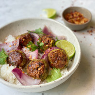 Curry Chicken Meatballs