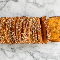 Spicy Harissa Pull-Apart Bread