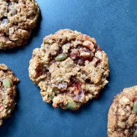 PB&J Oatmeal Breakfast Cookies