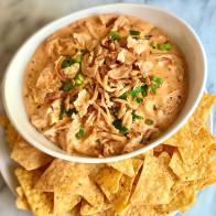 Super Cheesy Spicy Chicken Dip