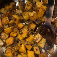 South Indian-ish Butternut Squash